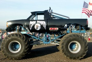 The Grim Reaper monster truck