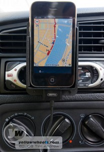 Tomtom Satnav app on iPhone 3G