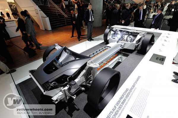 BMW Vision hybrid chassis