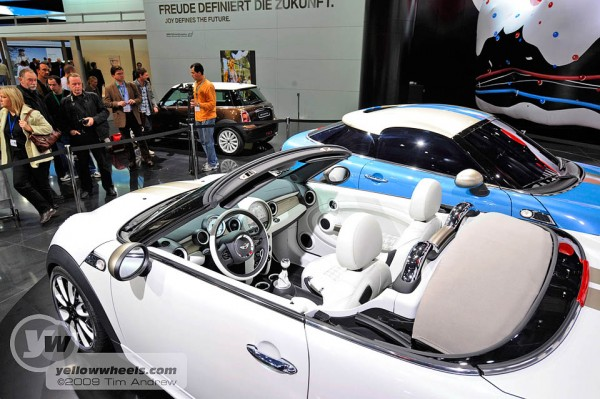 Mini Roadster Concept interior