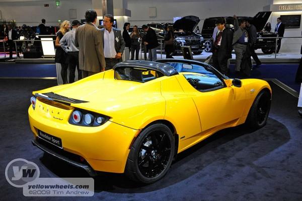 Tesla Roadster Sport at Frankfurt motor show
