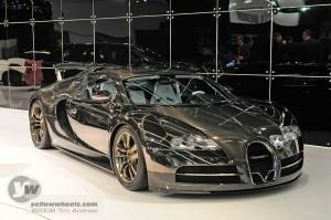 Carbon bodied Bugatti Veyron