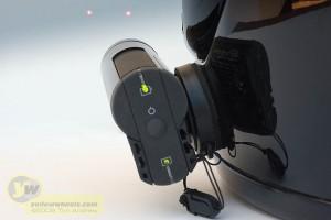 Laser dots for leveling lens