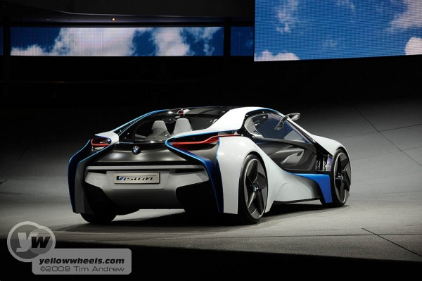 BMW Vision hybrid concept car