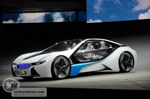 BMW Vision hybrid concept
