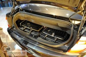 Maserati GranCabrio boot