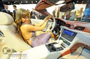 Maserati GranCabrio interior + model