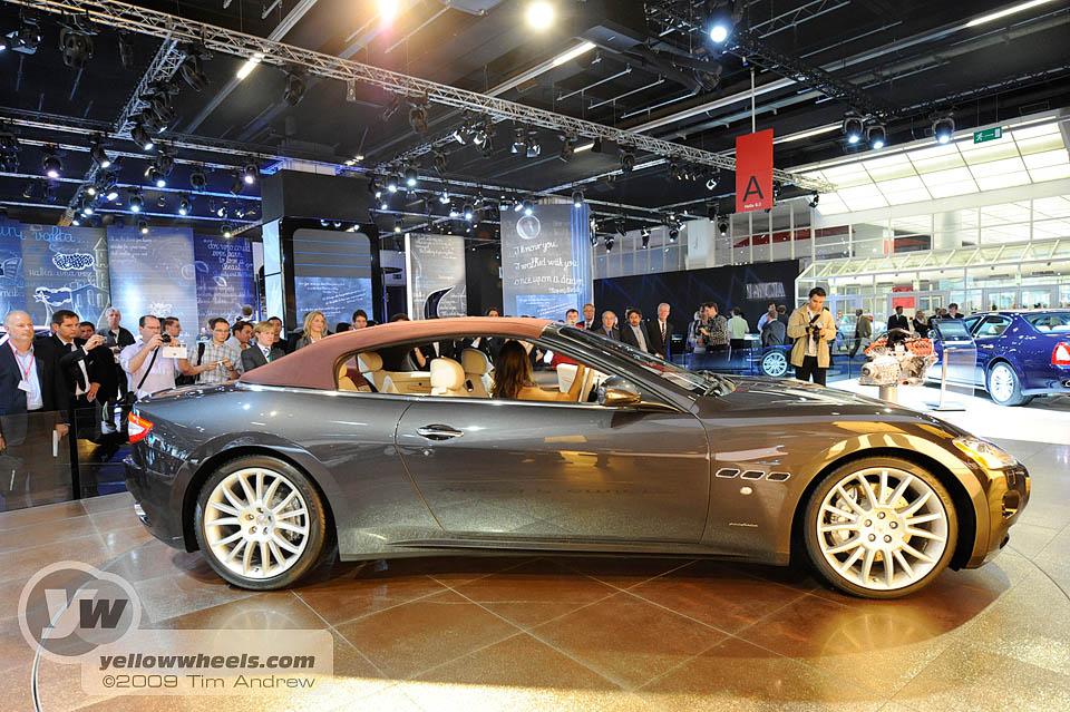 Maserati Grancabrio Interior. Maserati GranCabrio