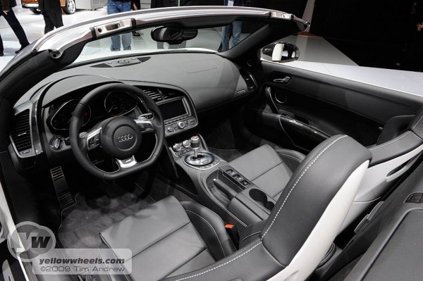 Audi R8 Interior Automatic 2009 IAA Frankf...