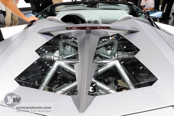 Lamborghini Reventon Roadster engine cover
