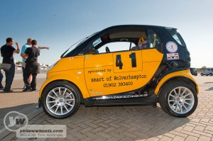 Smart ForOne hillclimb car