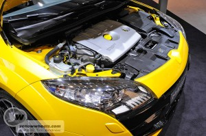 Megane Renaultsport 250 2.0 litre turbo engine