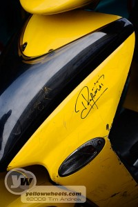 Jean Ragnotti signed scooter