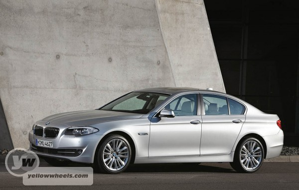 New 6th generation BMW 5 Series