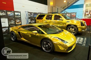 How gold do you like your car ?!