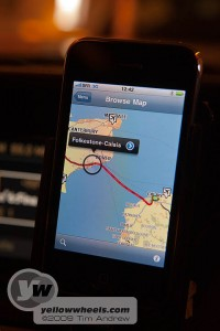 Tomtom iPhone satnav