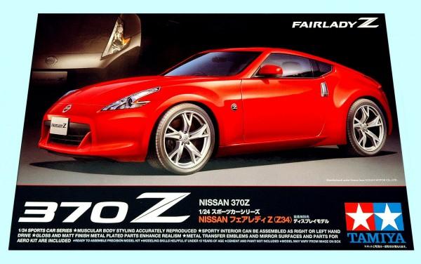 Tamiya 1/24 scale Nissan 370Z box