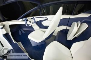 Honda P-NUT Concept car interior