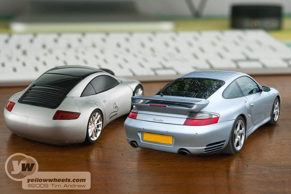 Styling similar to a Porsche 911, although a Carrera 4s would be closer than this Turbo