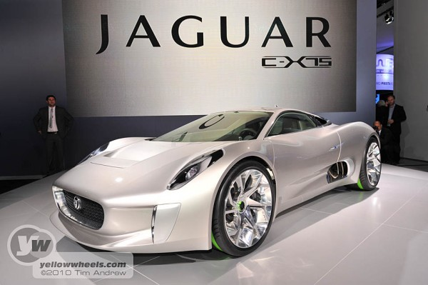 Lovely Paris Motor Show 2010   Jaguar ...