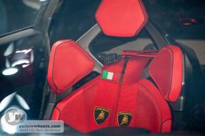 Paris Motor Show - Lamborghini Sesto Elemento, minimalist interior