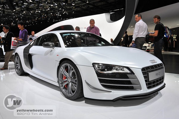 paris motor show audi r8gt. Black Bedroom Furniture Sets. Home Design Ideas