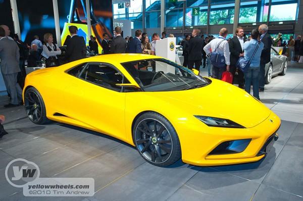 Paris Motor Show 2010 Lotus Elan Concept