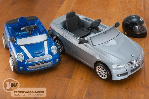 mini and bmw electric kids cars